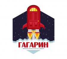 """Логотип для магазина дверей """"Гагарин"""""""