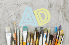 Логотип для магазина творчества