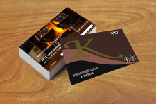 Макет визитки стол - 5