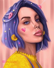 Портрет стилизованный