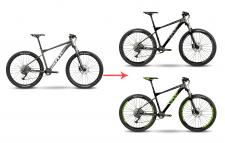 Изменение дизайна велосипеда