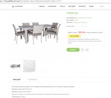 Наполнение сайта товарами на двух языках