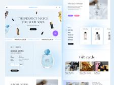 Parfum City Online Shop redesign