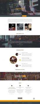 Дизайн сайта сигарного клуба