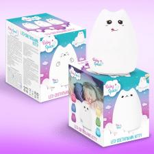 Упаковка и логотип для детского светильника