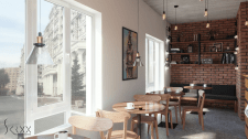 Визуализация Кафе