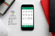 Иконки для мобильного приложения (12 шт)