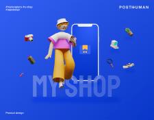 Myshop. Площадка для продажи товаров