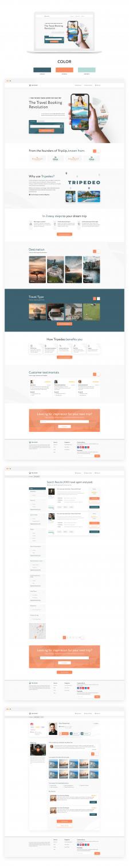 Tripedeo - Дизайн сайта