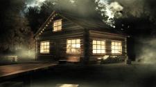 Домик в лесу - ночь