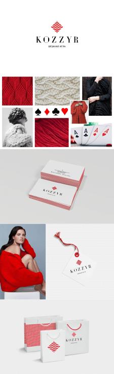 Разработка фирменного стиля дизайнера одежды