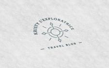 Создание лого для тревел блогера