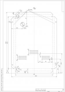 Розгортка деталі для лазерного різання