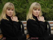 фото+ Ретушь до и после