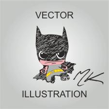 Cartoon batman