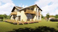 Проект частного коттеджного дома в Киеве
