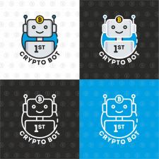 "Разработка логотипа для компании ""1St Crypto Bot"""