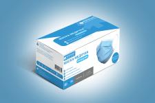 Дизайн упаковки медицинских масок