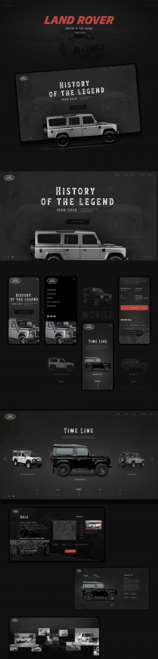 Land Rover — History of the legend