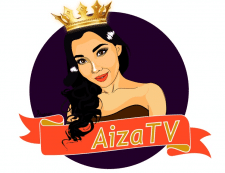 Арт-логотип для YouTube канала AizaTV