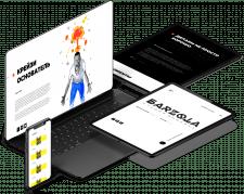 Дизайн и верстка сайта рекламного агентства