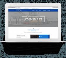 Сайт компании «AZ-INSHAAT»