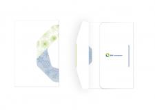 Новогодняя открытка для компании БМС консалтинг. Вид 2.
