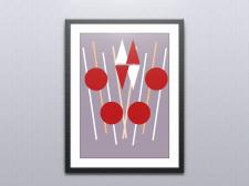 Симметричная иллюстрация