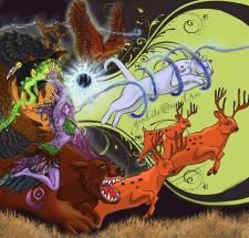 Формы друидов (иллюстрация)