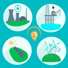 Иконки: энергетика
