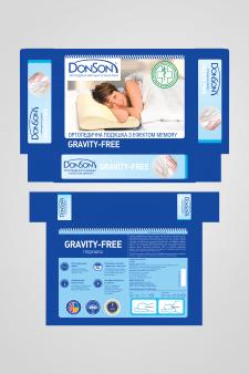"""Упаковка для ортопедической подушки """"Gravity Free"""""""