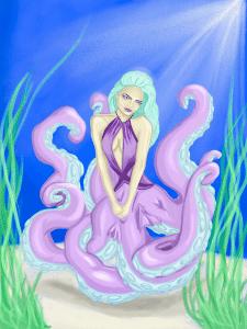 Девушка-осьминог