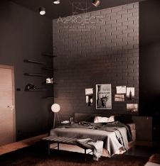 Спальня холостяка
