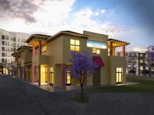 Моделювання торгового центру в Каліфорнії