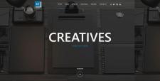 Верстка html шаблона по макету Creative Digital