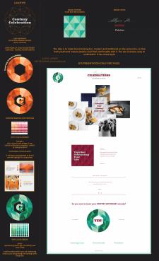 Брендинг и основная страница сайта