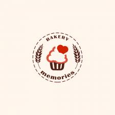 """Лого для кондитерской """"Memories"""""""