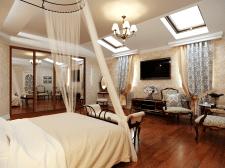 Концепция дизайна мини-отеля (Псевдоклассицизм)