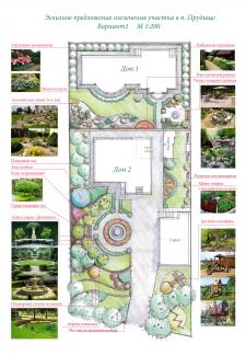 Дизайн-проект озеленения участка