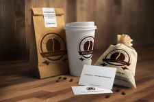 Разработка логотипа и упаковки CoffeeРанок