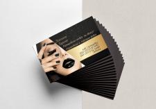 Дизайн визитки для мастера косметологических услуг