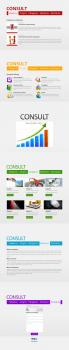 Landing Page (лендинг) консалтинговой компании