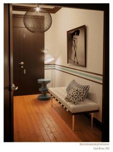 Визуализация и моделирование прихожей комнаты
