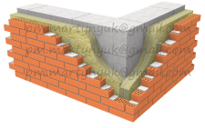 Визуализация фасадных решений с керамоблоком