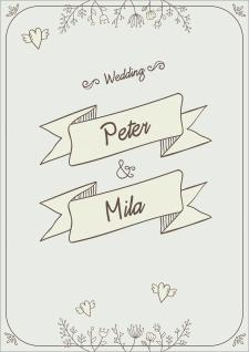 Свадебная карта. Обложка