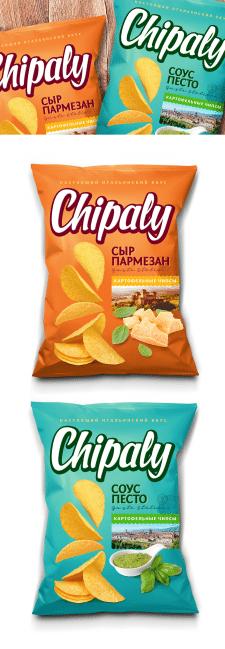 Дизайн упаковки чипсов