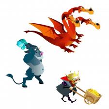 Персонажи игры Вектор