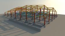 Концепция каркаса здания (Изображение 2)