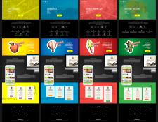 Дизайн внутренних страниц для студии WhiteSpace