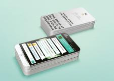 Дизайн визиток для Интернет - магазина